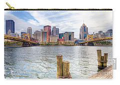 0310 Pittsburgh 3 Carry-all Pouch by Steve Sturgill