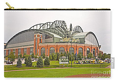 0622 Milwaukee's Miller Park Carry-all Pouch by Steve Sturgill