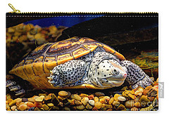 Sea Turtle Carry-all Pouch by Savannah Gibbs