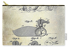 1902 Duck Decoy Patent Drawing Carry-all Pouch