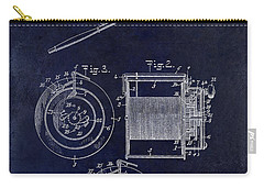 1906 Fishing Reel Patent Carry-all Pouch