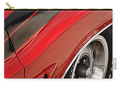 Carry-all Pouch featuring the photograph 1970 Dodge Challenger R/t by Gordon Dean II