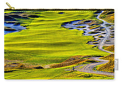 #5 At Chambers Bay Golf Course - Location Of The 2015 U.s. Open Tournament Carry-all Pouch