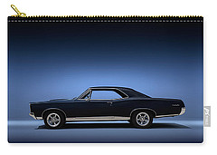 Carry-all Pouch featuring the digital art 67 Gto by Douglas Pittman