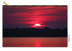 A Chesapeake Bay Sunrise Carry-all Pouch
