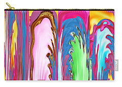 Abstract Emotional Stages  Confusion Disbelief Grief Anger Walkaway Carry-all Pouch