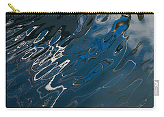 Carry-all Pouch featuring the photograph Abstract Reflection by Jani Freimann