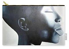 African Elegance - Original Artwork Carry-all Pouch