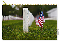 Carry-all Pouch featuring the photograph American Flag by Jerry Gammon