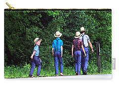 Amish Boys Carry-all Pouch