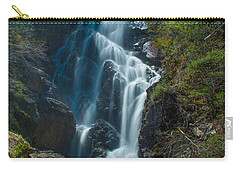 Carry-all Pouch featuring the photograph Angel Falls by Alana Ranney