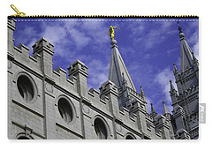 Angel On The Temple Carry-all Pouch
