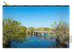 Anhinga Trail Boardwalk, Everglades Carry-all Pouch