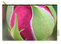 Carry-all Pouch featuring the photograph Anticipation by Deb Halloran