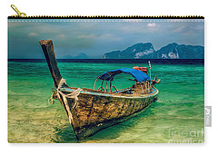 Asian Longboat Carry-all Pouch by Adrian Evans