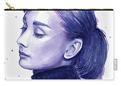 Audrey Hepburn Portrait Carry-all Pouch