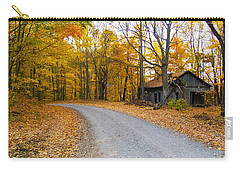 Autumn And The Old House Carry-all Pouch