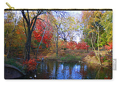 Autumn By The Creek Carry-all Pouch