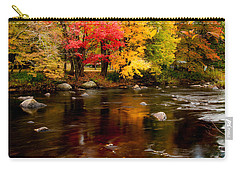 Autumn Colors Reflected Carry-all Pouch
