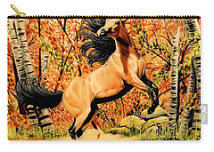 Autumn Frolick Carry-all Pouch by Cheryl Poland