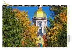 Autumn On The Campus Of Notre Dame Carry-all Pouch