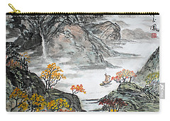 Carry-all Pouch featuring the painting Autumn  by Yufeng Wang