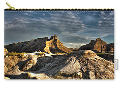 Badlands National Park Sunset Carry-all Pouch