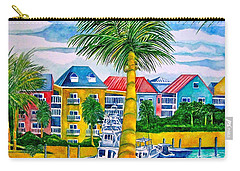 Bahamian Blues Carry-all Pouch