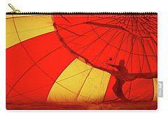 Carry-all Pouch featuring the photograph Balloon Fantasy 2 by Allen Beatty