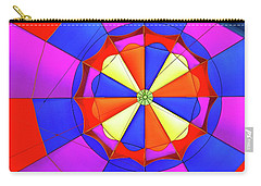Carry-all Pouch featuring the photograph Balloon Fantasy 3 by Allen Beatty
