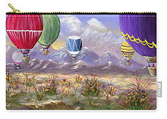 Carry-all Pouch featuring the painting Balloons by Jamie Frier