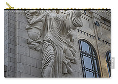 Bass Hall Angel Carry-all Pouch by Joan Carroll