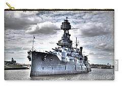 Battleship Texas Carry-all Pouch by Savannah Gibbs