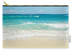 Carry-all Pouch featuring the photograph Beach Love by Sharon Mau