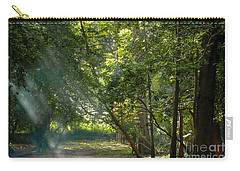 Beautiful Morning Carry-all Pouch by Kiran Joshi