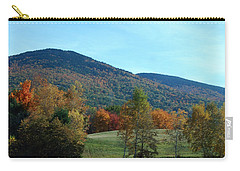 Carry-all Pouch featuring the photograph Belknap Mountain by Mim White