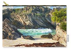 Bermuda Hidden Beach Carry-all Pouch by Verena Matthew