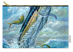 Big Jump Blue Marlin With Mahi Mahi Carry-all Pouch