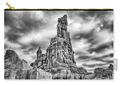 Carry-all Pouch featuring the photograph Big Thunder Mountain Railroad by Howard Salmon