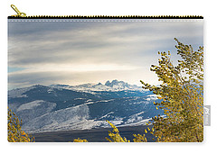 Carry-all Pouch featuring the photograph Blacktooth by Michael Chatt