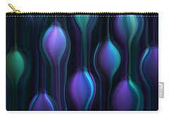 Blue Chandeliers Carry-all Pouch