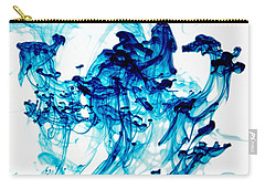 Blue Chaos Carry-all Pouch by Liz Masoner