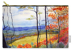 Blue Ridge Mountains Of West Virginia Carry-all Pouch by Katherine Miller