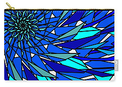Blue Sun Carry-all Pouch