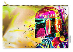 Boba Fett Star Wars Carry-all Pouch by Daniel Janda
