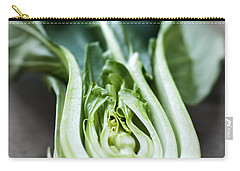 Bok Choy Carry-all Pouch by Elena Elisseeva