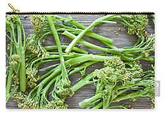 Broccoli Stems Carry-all Pouch by Tom Gowanlock