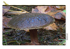 Brown Toadstool Carry-all Pouch by Chalet Roome-Rigdon