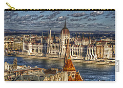 Buda Parliament  Carry-all Pouch by Nathan Wright