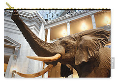 Bull Elephant In Natural History Rotunda Carry-all Pouch